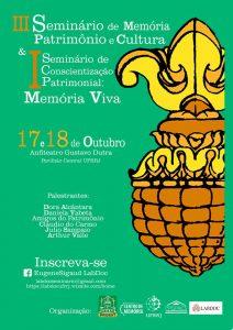 III Seminário de Memória, Patrimônio e Cultura