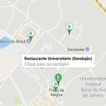 Mapa da faculdade