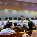 Palestra de abertura do evento