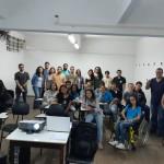 Petianos e alunos
